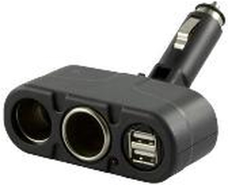 Deltaco billader USB-CAR2