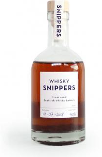 Snippers Whisky ekbitar med flaska 35 cl