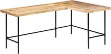 vidaXL Skrivbord 120x60x76 cm massivt mangoträ