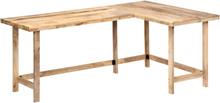 vidaXL Skrivebord 180x120x76 cm heltre mango