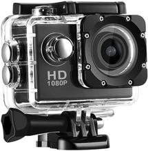 Sports Cam Full Hd 1080p/720p - Med Tillbehör Svart