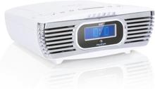 Dreamee DAB+ klockradio CD-player DAB+/FM CD-R/RW/MP3 AUX retro vit