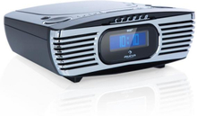 Dreamee DAB+ klockradio CD-player DAB+/FM CD-R/RW/MP3 AUX retro svart