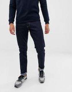 Emporio Armani - J06 mörktvättade slim jeans - Blå