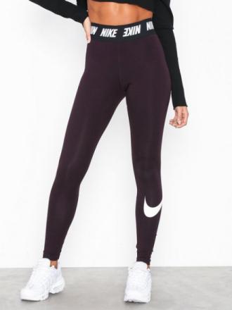 Nike NSW Club Legging HW Burgundy
