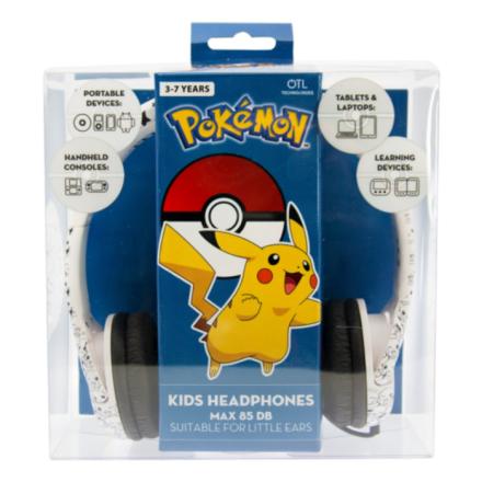 Pokemon Junior Headphones Pikachu Faces - My-Phoneshop