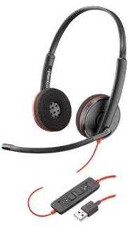 PLANTRONICS BLACKWIRE C3220 (STEREO HEADSET MS (USB-A))