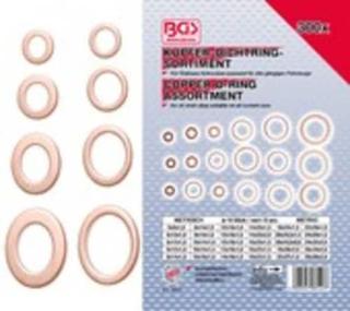 Tätningsring-Sortiment   Koppar   300 delar