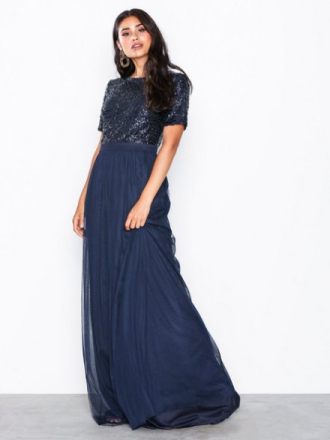 NLY Eve Sprinkle Short Sleeve Gown