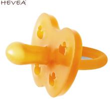 Hevea - Schnuller (100% Naturkautschuk) - Symmetrische Form - 3-36 Monate
