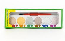 Gifrfria vattenfärger 6 färger