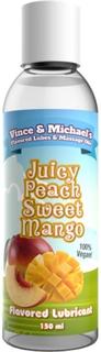 Juicy Peach Sweet Mango Smaksatt Glidmedel 150 ml