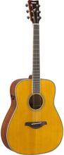 Yamaha FG-TA TransAcoustic Vintage Folk Western Guitar