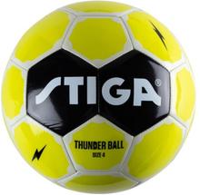 STIGA, Football, Thunder, Size 4, Green