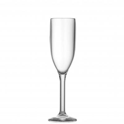 Champagneglas i plast 20 cl