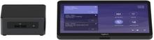 Logitech Tap for Microsoft Teams Base Model - Videokonferansesett - med Intel NUC (Core i7), Logitech JumpStart (90 days)