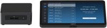 Logitech Tap for Zoom Base Model - Videokonferansesett - med Intel NUC (Core i7)
