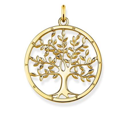 Hängsmycke Tree of Love Guld