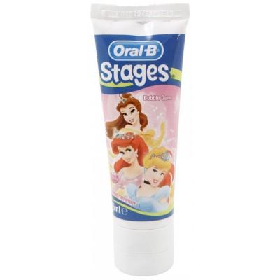 Oral-B Stages Hammastahna Princess 75 ml