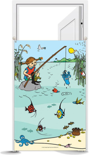 Pippi Långstrump - Fiskdamm för barnkalas