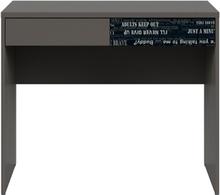 Link skrivbord - Grå