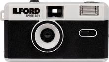Ilford Camera Sprite 35-II Black & Silver , Ilford