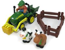 Tomy - John Deere Set traktor/djur