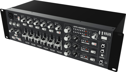 Hill Audio 4-zone mixer