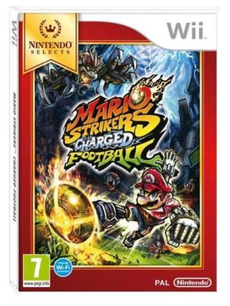 Mario Strikers Charged - Wii - Urheilu - baseball arcade
