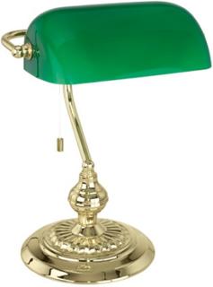 Eglo bordlampe - Banker - Grøn/messing