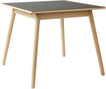 Poul M. Volther 4 pers. spisebord - C35A - Bøg/sort linoleum