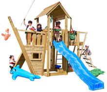 Jungle Gym Mansion legetårn med bådmodul
