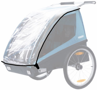 Thule regnslag til cykelanhænger