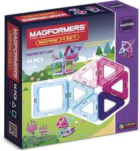 Magformers byggesæt - Inspire set - 14 dele