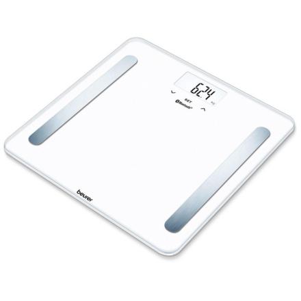 Kropsanalysevægt hvid med Bluetooth Beurer BF 600 Pure