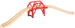 BRIO bro med togskinner