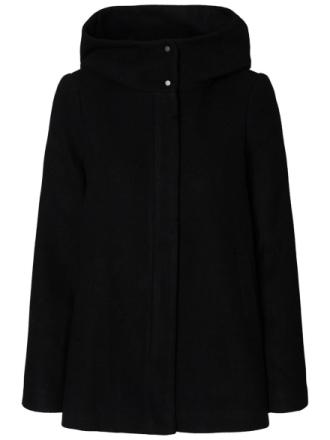 VERO MODA Wool Jacket Women Black