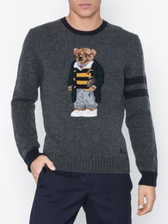 Polo Ralph Lauren Polo Bear Long Sleeve Sweater Tröjor Grey