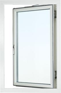 Fönster Aluminium Sidohängt 1-luft