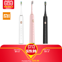Global Version Oclean X Sonic Electric Toothbrush with 8Pcs Heads Waterproof Ultrasonic Fast Charging Color Screen Tooth Brush