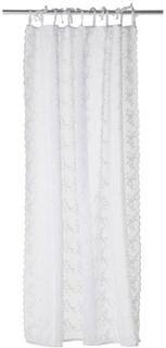 Lene Bjerre - Maddie Voile Embroidery Gardin, 160x220 cm, Hvit