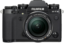 Fujifilm X-T3 + XF 18-55/2,8-4,0 LM OIS Svart, Fujifilm