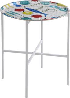 Almedahls - Picknick Bakkebord 45 cm, Hvid