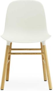 Normann Copenhagen - Form Stol, Hvit/Eik