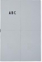 Design Letters - Design Letters Opslagstavle A3, Ljusgrå