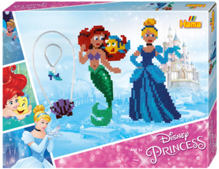 Hama Midi perlesæt - Disney Princess - 4.000 stk.