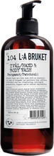 L:a Bruket - Flytende Såpe 450ml, Bergamot/Patchouli