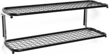 Essem Design - Classic 650S Skohylde 60cm, Sort/ Krom