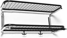 Essem Design - Classic 650 Hattehylle 60 cm, Sort/Krom
