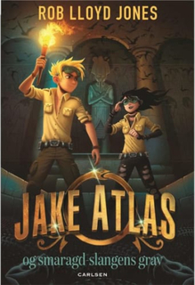 Jake Atlas og smaragdslangens grav - Indbundet